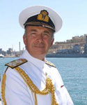 Admiral The Right Honourable Baron West of Spithead. GCB DSC PC ADC Duniv